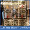 Meubles argentés en acier personnalisés de Module de vin de Mondern Stylestainless pour le restaurant