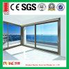 Подгонянная дверь алюминиевого сплава размера стеклянная с стеклом высокого качества