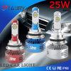 自動LED車ライト25Wヘッドライト360オフロードATV UTVのセリウム9004