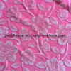 tessuto della flanella della stampa 3D con il disegno del fiore