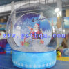 Bille gonflable de neige de Chiristmas/dessin animé gonflable le père noël de Noël