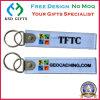 Kundenspezifischer Firmenzeichen-Entwurf entfernen vor Flug-Stickerei-Schlüsselring