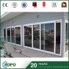 3つのパネルのテラスのエネルギー効率が良いプラスチックスライドガラスドア