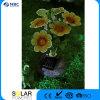 Un ape dei 5 LED con gli indicatori luminosi ottici solari decorativi della fibra del giardino di fiori