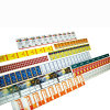 Étiquette auto-adhésive rotatoire d'autocollant d'impression de couleur