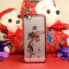 iPhone 6plus를 위한 중국 Style Electroplating Lantern Pattern Lightweight Plastic Cell Phone Case