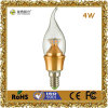 4W diodo emissor de luz Decoration Incandescent Candle Bulb Light