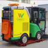 Vassoura de estrada conduzida Pto Diesel do trator da vassoura de rua do motor