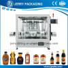 Fabricante de equipamento de enchimento de engarrafamento automático do mel do frasco de vidro