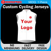 Cycling su ordinazione Wear con Sublimation Printing Sleeveless Cycling Jersey