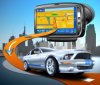 BluetoothのMtk Portable Car GPS Navigator