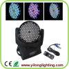 108PCS van uitstekende kwaliteit RGBW die het HoofdLicht van de Wasmachine van de Muur bewegen