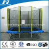 8ftx12ft Rectangle Trampoline con Safety Net