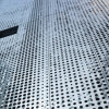 Aluminum perforato Sheets con Round Perforations per Facade Decoration