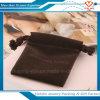 Bolsa de lujo de la joyería del terciopelo del bolso del regalo del terciopelo del lazo