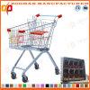 Supermarkt-Euroart-Zink-Einkaufswagen (Zht12)