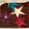 Linternas de papel indias impresas coloridas de la estrella de las linternas de papel