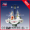Bonecos de neve Family Inside de Crafts do Natal com Decorative Skirt