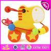 Brandnew деревянный комплект игрушки шарика 2015, отбортовывает деревянную игрушку установленную для младенца, претендует игрушку W11b078 игры деревянную установленное шариками