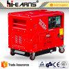 супер молчком тепловозный генератор 5kw (DG6500SE-N)