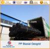 Polypropylene material Geogrid biaxial da construção de estradas