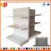 Prateleiras de aço personalizadas Manufactured da gôndola do supermercado de Pegboard (Zhs465)