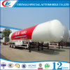 59.52cbm 액체 프로판 가스 LPG 유조선 트레일러