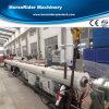 Tubulação plástica do PE dos PP que faz a linha de produção da extrusão da máquina