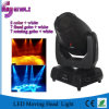 190W diodo emissor de luz Stage Moving Head Light com Pattern Effect (HL-190ST)