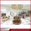 Diseño interior de la tienda de zapatos de la manera para el almacén de zapatos de la alameda de compras