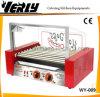 Glass (WY-009)를 가진 전기 9 Rollers Hot Dog Grill