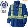 100% Cttoon Winter Pad Flame Resistant Kleding / Reflecterende Safety Jacket