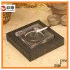 Cubierta de cuero modificada para requisitos particulares con el cenicero cristalino
