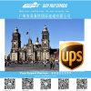 Service d'expédition exprès de courier d'UPS de Chine vers le Mexique