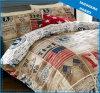 型のアメリカの画像はポリエステル羽毛布団カバーセットを印刷した