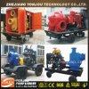 移動式トレーラーの水ポンプ