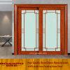 발코니 또는 Kitchen Sliding Grille Glass Timber/Wooden/Wood Door (XS3-021)