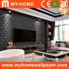 PVC Vinyl Wall Paper Frame para Interior Decoration