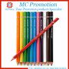 Lápis de madeira da cor do arco-íris barato relativo à promoção