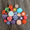F0724 Multi Flowers Silicone Molds для Cake и DIY Soap Decorations