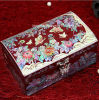 Ретро коробка ювелирных изделий драгоценности, деревянная коробка ювелирных изделий