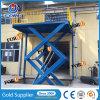 Levage hydraulique fixe industriel de cargaison de ciseaux pour l'entrepôt de construction avec du ce