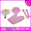 Деревянное Toy Kitchen Play Set для Kids, Role Play Toy Wooden Kitchen Toy для Children, DIY Toy Cook Toy для Baby W10b084