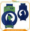 De aangepaste 2D Medaille van het Metaal van het Ontwerp met het Plateren van het Verschil