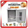 De automatische Incubator van het Ei van de Kip voor 440 Eieren van de Kip