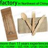 カスタム使い捨て可能な木製の食事用器具類セット