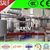Destilería negra del aceite de motor/máquina baja de la destilación del petróleo