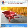 Carrinho de mão de roda resistente da bandeja da alta qualidade 65L/5FT