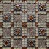 De Tegel van het Mozaïek van het kristal, de Rustieke Tegel van het Glas van de Decoratie van de Hars, de Tegel van de Muur van het Mozaïek