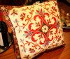 Katoen Pilow van de Manier van het Kussen van het borduurwerk het Decoratieve (ypl-484)